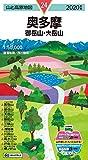 山と高原地図 奥多摩 御岳山・大岳山 (山と高原地図 24)
