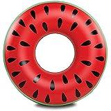 Maphissus 浮き輪 可愛い スイカ プール 海 レディース メンズ 子供 3サイズ(90#)