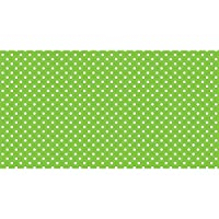 Pacon Fadeless Designs Bulletin Board Art Paper, 4-Feet by 50-Feet, Lime & White Classic Dots (57435) by Pacon