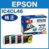 【エプソン純正インク】インクカートリッジ 4色セット IC4CL46