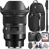 Sigma 24mm f/1.4DG HSM Artレンズfor Sony EマウントカメラW/高度なフォトと旅行バンドル