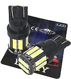 (ライミー)LIMEY 最新! 5W級 爆光 T10 LED バルブ ホワイト 白 ポジション ウエッジ SMD7020 10連×2SMD 20チップ搭載 6000K ナンバー ..