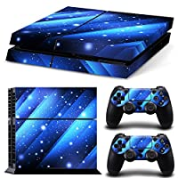 Linyuan 安定した品質 1593* Skin Sticker Vinyl Decal Cover for PlayStation 4 PS4 Console+Controllers
