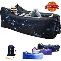[yeacar] [Inflatable Lounger Air Sofaキャンプ、ハイキング旅行ピクニックスイミングプールビーチパーティーのためのインフレータブルソファ] (並行輸入品)