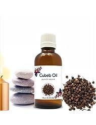 Cubeb Oil(Piper Cubeba) Essential Oil 10 ml or 0.33 Fl Oz by Blooming Alley