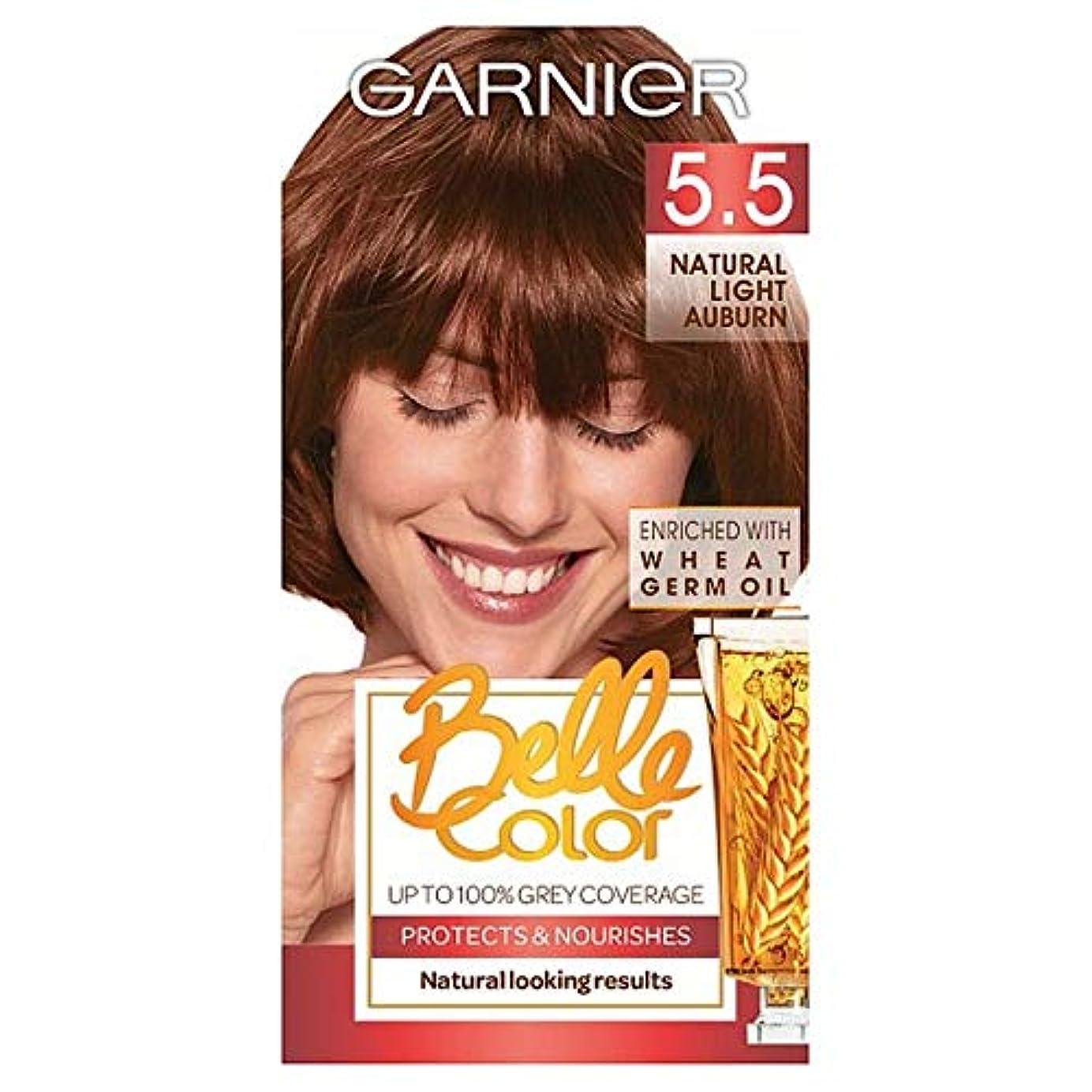 藤色忠実にアブセイ[Belle Color] ガーン/ベル/Clr 5.5自然光赤褐色パーマネントヘアダイ - Garn/Bel/Clr 5.5 Natural Light Auburn Permanent Hair Dye [並行輸入品]