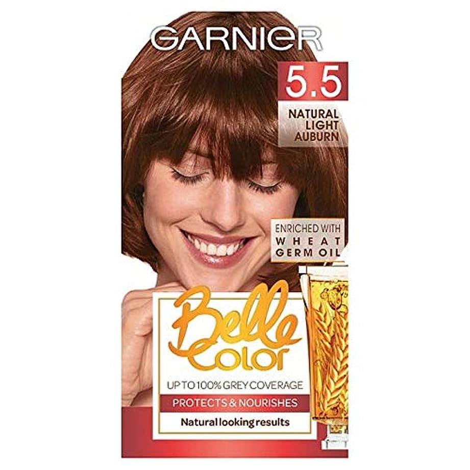 一緒に実り多いクライアント[Belle Color] ガーン/ベル/Clr 5.5自然光赤褐色パーマネントヘアダイ - Garn/Bel/Clr 5.5 Natural Light Auburn Permanent Hair Dye [並行輸入品]