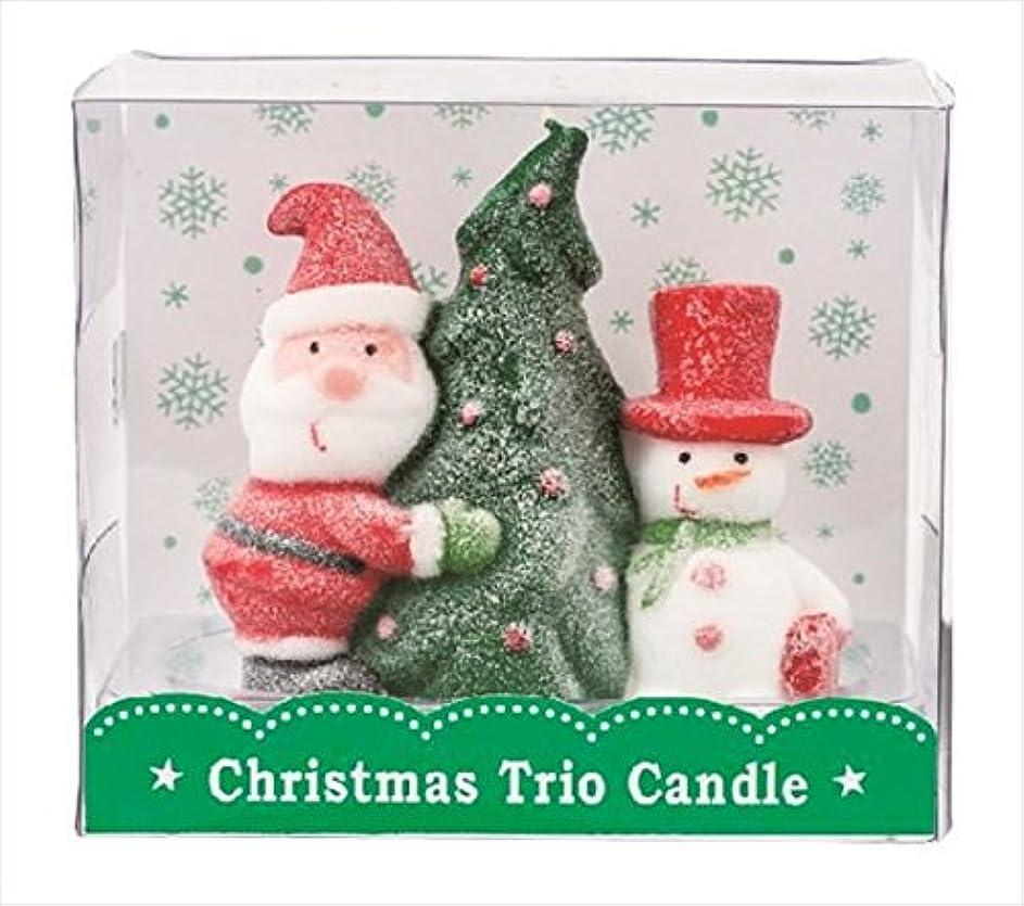 群れ人柄配送kameyama candle(カメヤマキャンドル) クリスマストリオキャンドル 「 ツリー 」(A3220020)