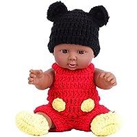 KIDDING 30cm シリコン ソフトビニール製子供おもちゃ 人形 赤ちゃん (赤いマウスの人形)