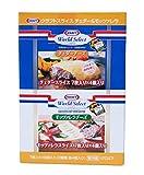 KRAFT クラフト スライス チェダー&モッツァレラ チーズ 7枚入り×8個(2種類各4個入り) 【冷蔵品】