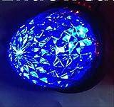 高輝度 16連 LED クリスタル 8面 カット トラック バス サイド マーカーランプ 10個 セット 24V 車 専用 選べる カラー 色 (06: 青 4個 セット)
