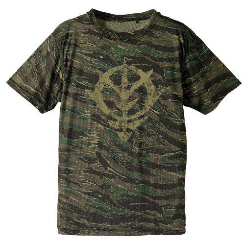 機動戦士ガンダム ジオン カモフラージュドライ Tシャツ タイガー XLサイズの詳細を見る