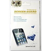 iPhone SE 5s 5c 5 保護 フィルム シート 2枚入り クロス付き