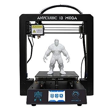 Anycubic i3 Mega 3D プリンター 3D高精度printer 大きい プリンタサイズ 構造物取り易いヒートベッド