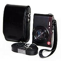 zdmoonブラックレザーカメラケースバッグLeica v-lux20V-lux30V-lux40leica-c