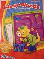 Homework Helper ~ First Words (Kindergarten; 2012 Edition) by Greenbrier [並行輸入品]