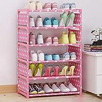 靴ラック_ホームシンプルなシューズラック多層アセンブリストレージシューズラック防塵シューキャビネット(複数の選択肢)
