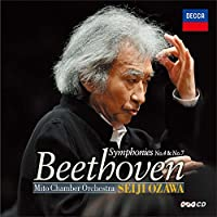 Beethoven: Symphonies No. 4 No. 7 by Seiji Ozawa