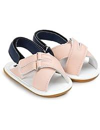 ルテンズ(Lutents )乳児靴 サンダル マジックテープ 履きやすい 女の子 男の子 キッズ 滑り止め 付き 子供 靴 子供サンダル ベビーシューズ 靴 耐磨 履き心地良い 軽量 滑り止め 可愛