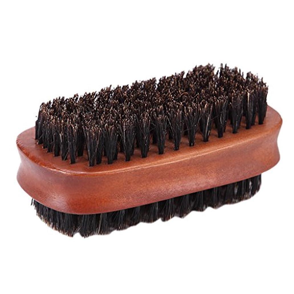 管理者どこか応答Homyl ヘアカット ダスターブラシ 両面ブラシ サロン 散髪 ヘアカット 柔らか 使いやすい