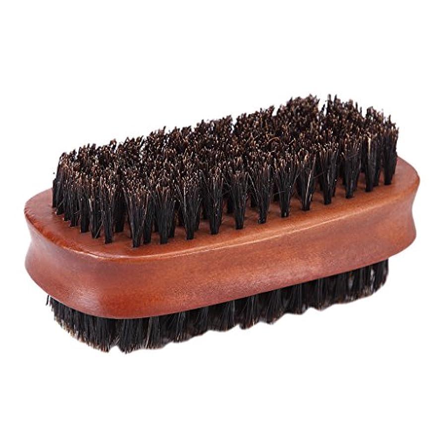 神秘夜明け粘性のHomyl ヘアカット ダスターブラシ 両面ブラシ サロン 散髪 ヘアカット 柔らか 使いやすい
