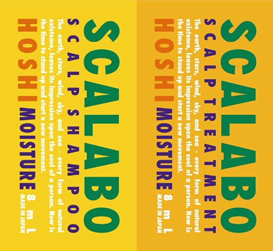 アーサーコナンドイルつかむ数学的なスカラボ 薬用 スカルプシャンプー&トリートメント HOSHI 1DAYトライアル 各8ml