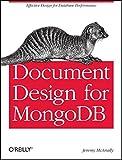 Document Design for Mongodb