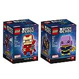 LEGO BrickHeadz Brickheadz Bundle 2 Building Kit (206 Piece) Stacking Toys