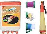Odishabazaar Ready to Draw Rangoli Making Kit [並行輸入品]