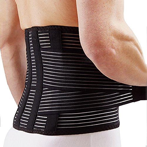 Valife 革新的な二種のステーが腰をサポート 腰痛ベルト 通気性抜群 姿...