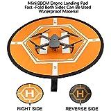 Nice Cool For DJI ドローン Mavic Proランディングパッド ドローン着陸パッドランディングパッド Mavic Air/Spark/Phantom 4 3/Inspire 1にも対応 汎用 折り畳み式 両面使用可能 (ドローン ランディングパッド) 画像