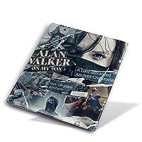Yinian アラン ウォーカー Alan Walker ブックカバー 文庫 皮革 レザー おしゃれ 新書 かわいい 本カバー おもしろい 文庫本カバー ファイル 資料 収納入れ オフィス用品 読書 雑貨 プレゼント