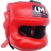 ボクシングヘッドギア – UMA r-81 – Facesaver – ボクシングMMA – Sparring保護ヘルメットRealレザー – ユニバーサルMartial Arts