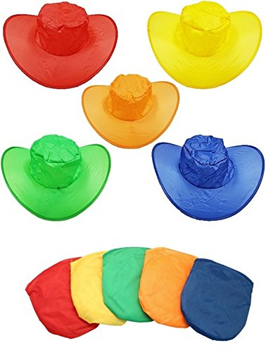 MU。O (5セット) Folding Sunレディース帽子キャップPackable Visor for旅行ドライブ釣りハンティングビーチハイキングサイクリングゴルフキャップスポーツパーティー特別な機会