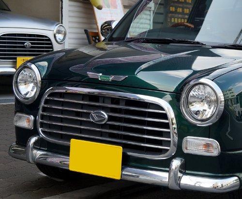 ダイハツ車 L700系 ミラジーノ ボンネットエンブレム・フードエンブレム ウイング型