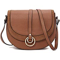 Forestfish Women Crossbody Bag Shoulder Bag Saddle Bag Purse Handbag for Gift