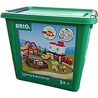 Brio 33135103 Large countryside set with silo by Brio [並行輸入品]
