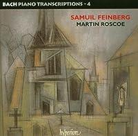 Bach, J.S.: Piano Transcriptions Vol.4 by Martin Roscoe (2004-10-12)