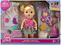 Baby Alive Butterfly Party Doll Blonde