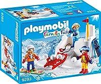 playmobil プレイモービル 9283 雪合戦 スキー
