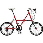 DOPPELGANGER 20インチ フォルダブル・ミニベロロード 軽量アルミフレーム採用折りたたみ自転車 FXシリーズ FLEDERMAUS FX13