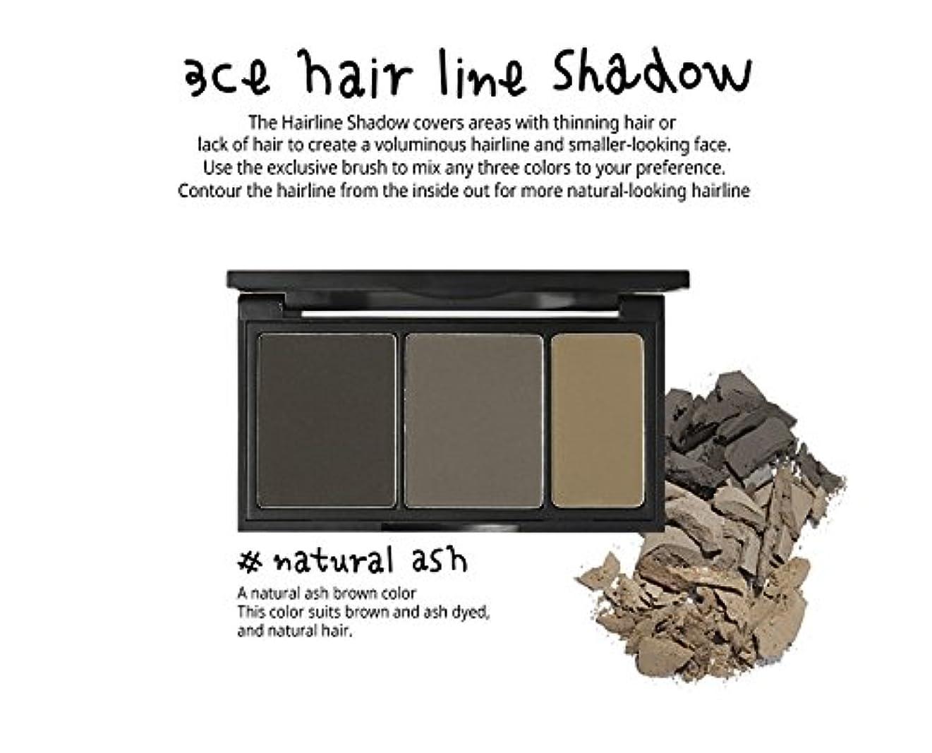 ピンスタック家事3 Concept Eyes 3CE Hair Line Shadow ヘアラインシャドー(Natural Ash)