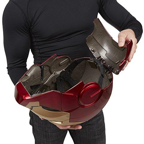 『ハズブロレプリカ マーベル・レジェンド / アイアンマン エレクトロニック ヘルメット』の10枚目の画像