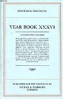 Leo Baeck Institute Yearbook 1991