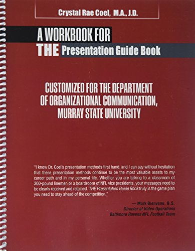 Download A Workbook for the Presentation Guide Book 1524916951