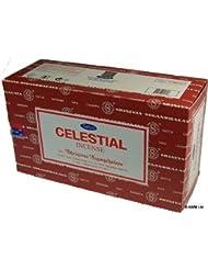 Satya Nag Champa Celestial Incense Sticks - Box 12 Packs by Satya