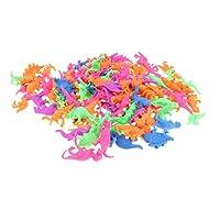Fenteer 教育玩具 ギフト 子ども 成長する卵 孵化おもちゃ 水成長玩具 プラスチック製 全6カラー選ぶ - 90個-恐竜