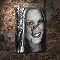 JULIANNE MOORE - キャンバス時計(A5 - アーティストによる署名) #js004