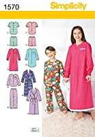 Simplicity Child Girl Sleepwear-3-4-5-6 (並行輸入品)