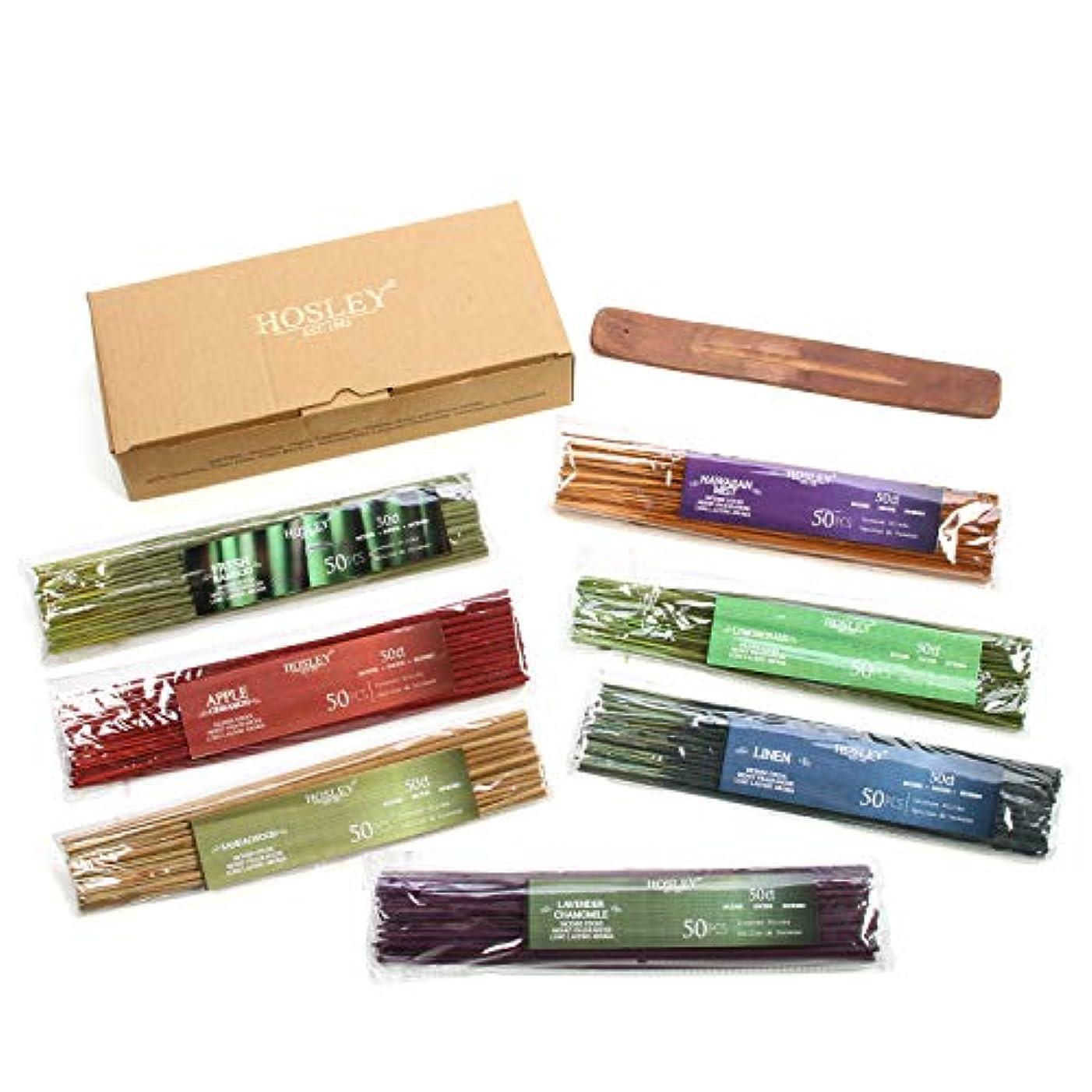 ケーブルびっくり気がついてHosley's Assorted 350 Pack Incense Sticks, Highly Fragrances include: Apple Cinnamon, Hawaiian Mist, Sandalwood...